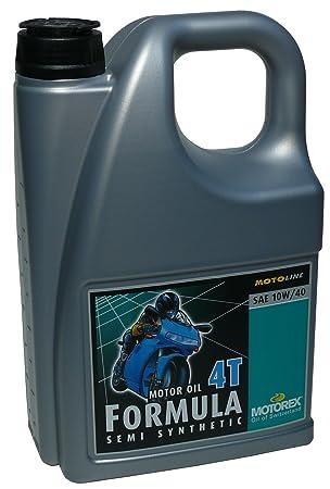 Motorex fórmula de aceite de motor SAE 10 W/40 Semi sintético 4 L: Amazon.es: Coche y moto