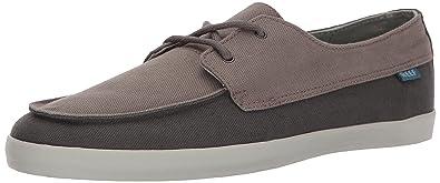 Reef Men's Deckhand Low Fashion Sneaker, Slate, ...