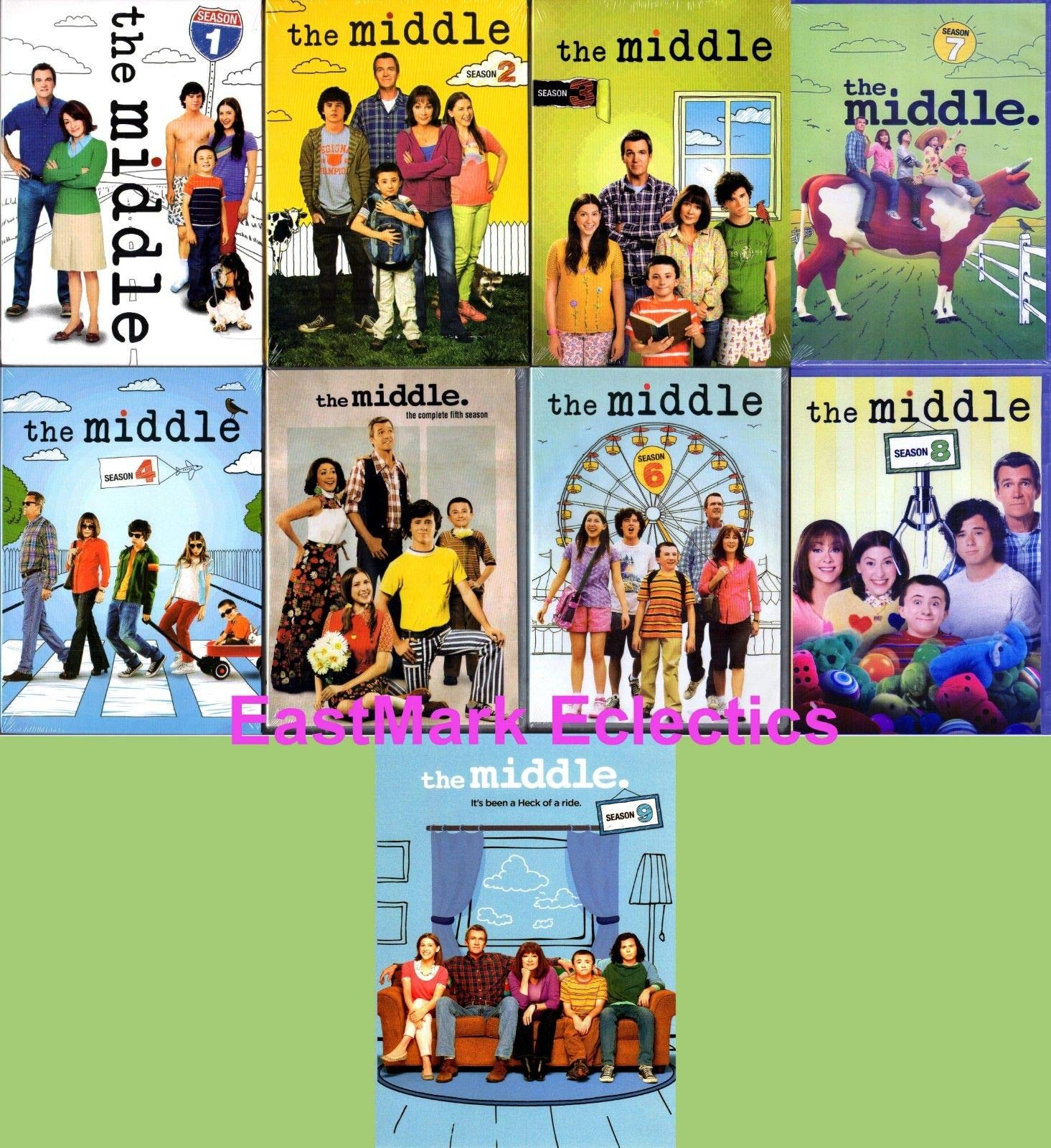 The Middle Complete Series Seasons 1-9 DVD