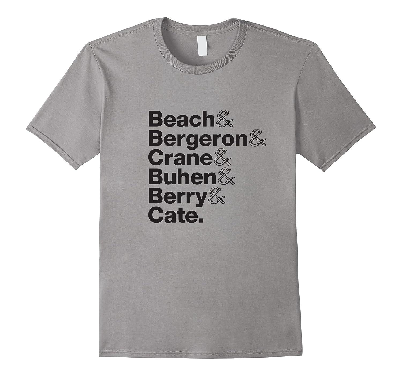 Tiki Cocktail Icons Tribute T-Shirt (6 names, black text)-TH