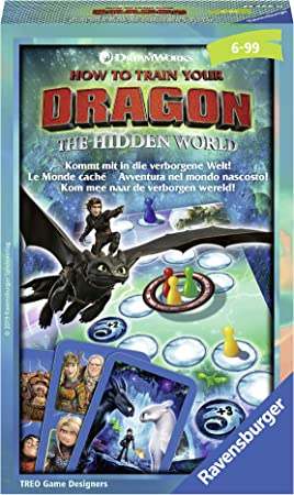 Ravensburger Dragons 3 Juego de Mesa de Carreras Niños y Adultos - Juego de Tablero (Juego de Mesa de Carreras, Niños y Adultos, 15 min, 25 min, 6 año(s), 99 año(s)): TREO