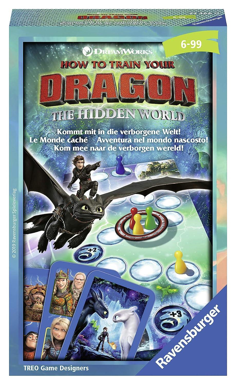 Ravensburger Dragons 3 Juego de Mesa de Carreras Niños y Adultos ...