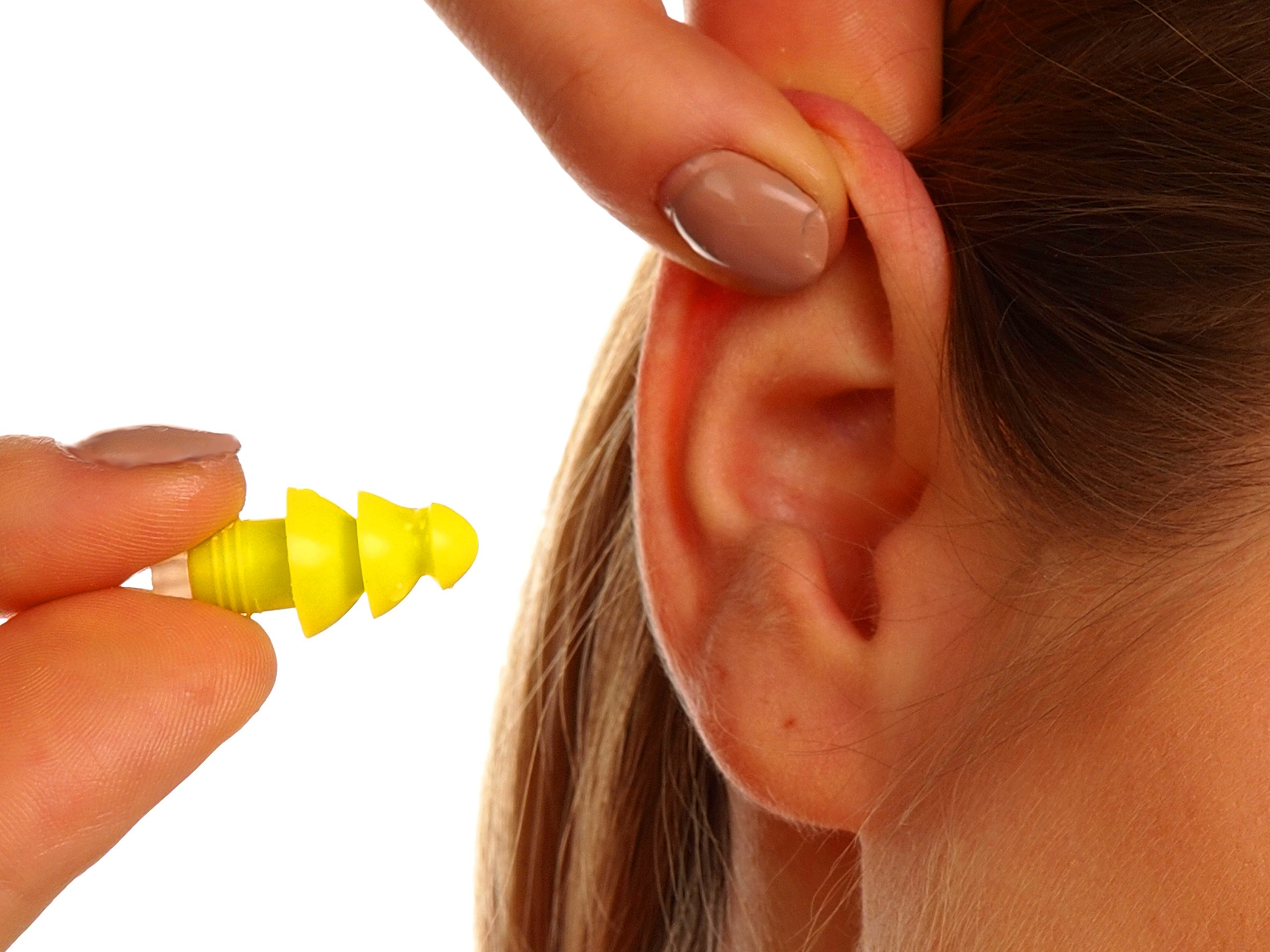 PQ Earplugs for Sleep - Comfortable & Reusable Ear Plugs for Side Sleepers - Sound Blocking Level 32 dB - Noise Cancelling for Snoring & Reusable Ear Plugs for Swimming & Traveling by Peace&Quiet (Image #8)