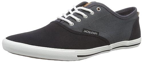 Mens Jjspider Canvas Low-Top Sneakers Jack & Jones ClyuA7u