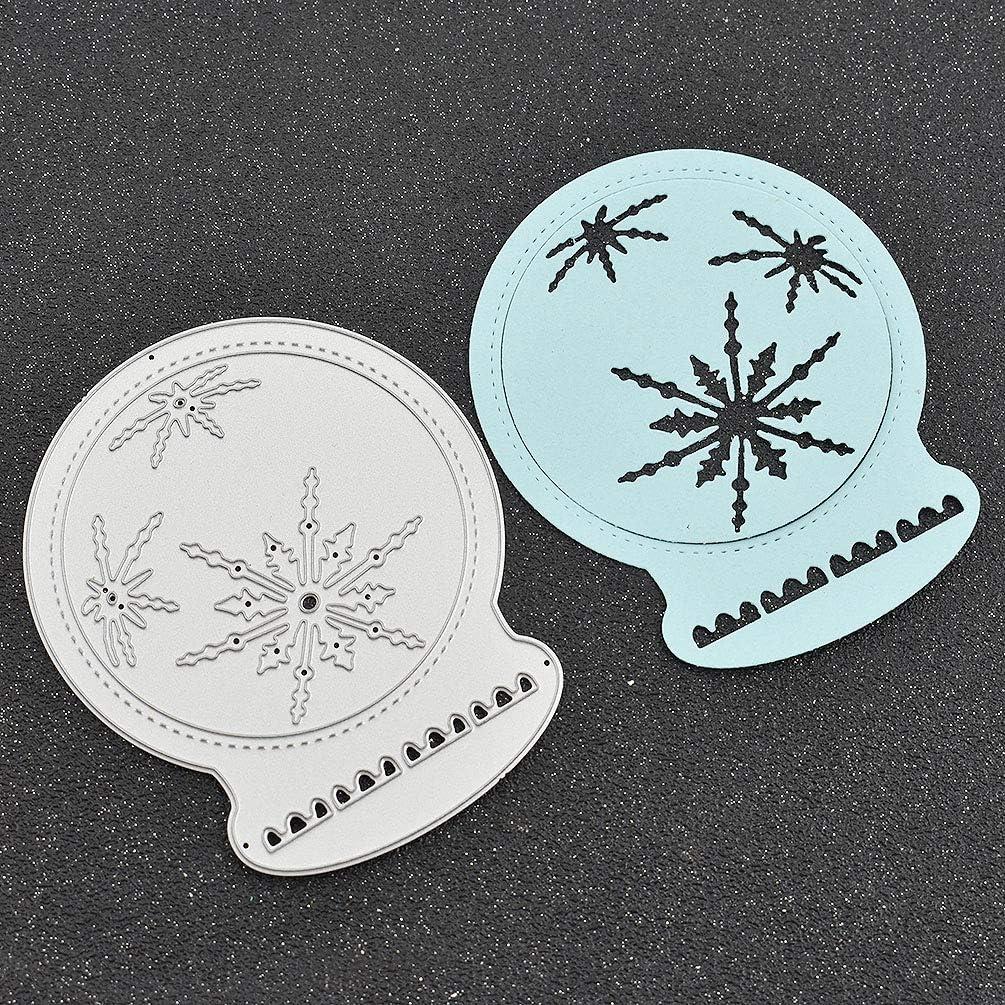 Kesheng Matrice De D/écoupe Cutting Die Scrapbooking DIY Accessoire Boule de Cristal