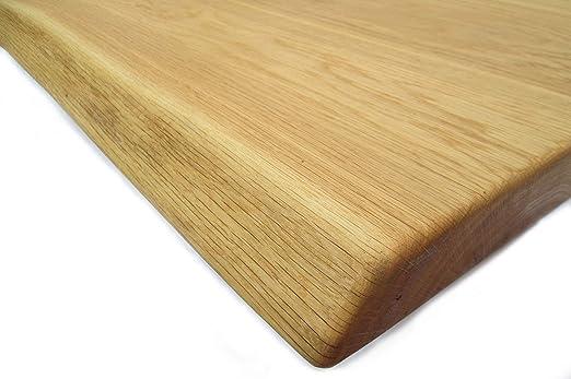 T07 - Tablero de madera maciza de roble salvaje barnizado con ...