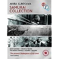 Akira Kurosawa Samurai Collection BLU RAY ( UK IMPORT REGION B BLU RAY )