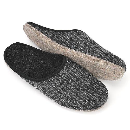 selezione speciale di fabbrica Il miglior posto Pantofole in Feltro Suola Uomini Pantofole Donna Pantofole in Feltro di  Varie Dimensione 36-51