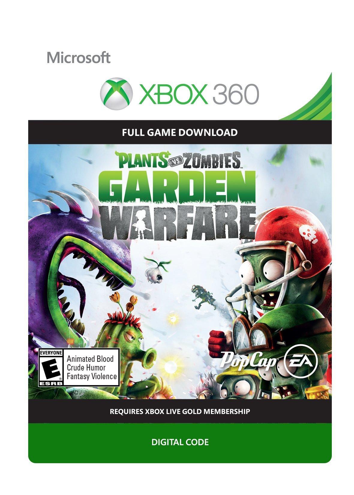 Amazon com: Plants vs Zombies Garden Warfare - Xbox 360
