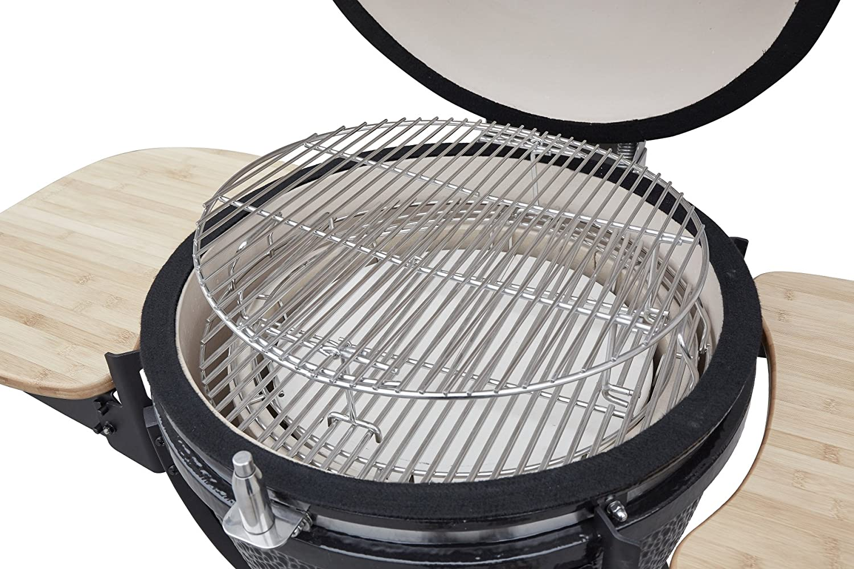 Tepro Grill Smoker Holzkohlegrill Milwaukee : Unbekannt keramik holzkohlegrill akron von el fuego® keramikgrill
