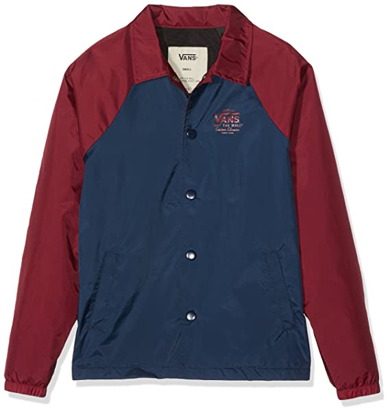 Vans Torrey, Chaqueta para Niños, (Dress Blues-Rhubarb J3c ...