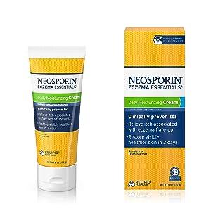 Neosporin Eczema Essentials Daily Moisturizing Cream, 6 Oz