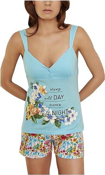 Pijama Mujer Verano Juvenil: Amazon.es: Ropa
