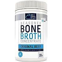 Bone Broth Caldo concentrado de hueso bovino - Rico en Colágeno para mejorar la salud del intestino, la firmeza de la…