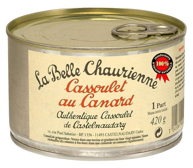 La Belle Chaurienne - Cassoulet de pato, pack de 3 unidades