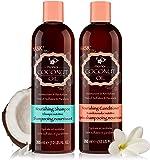 HASK COCONUT MONOI Shampoo and Conditioner Set Nourishing - Color safe,