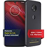 Moto Z4 with Instaprint Mod | Unlocked | Made for US by Motorola | 4/128GB | 48MP Camera | Gray