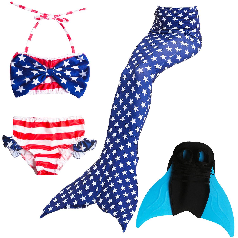 Das beste miglior ragazza bikini badeanzuege schoenere coda di sirena per il nuoto con sirena Pinne Nuoto Costume Coda-Un ragazza sogno