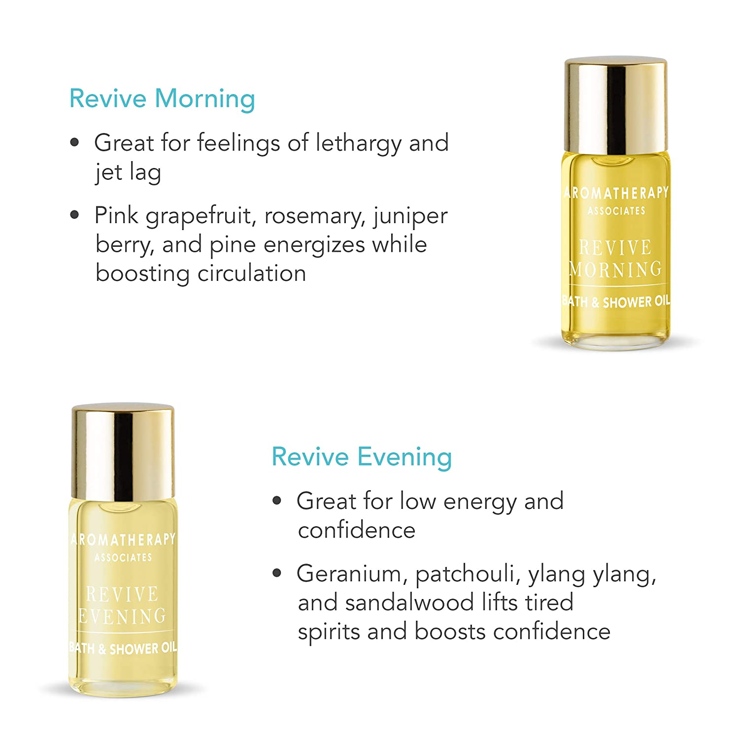 Aromatherapy Associates Discovery Wellbeing Miniature Bath & Shower Oil Gift Collection of 10, 3ml therapeutic, hand-selected bath and shower oils infused with essential oils. The ultimate gift.: Premium Beauty
