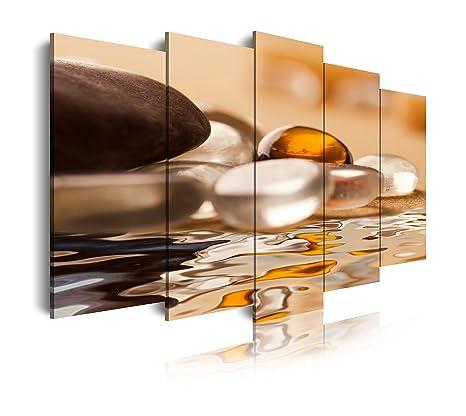 Dekoarte 153 - Quadro moderno su tela montato su telaio in legno di ...