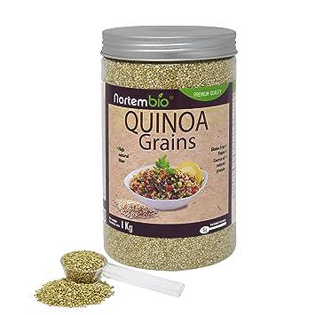 Semillas de Quinoa NortemBio 1 kg, Calidad Premium. 100% natural ...