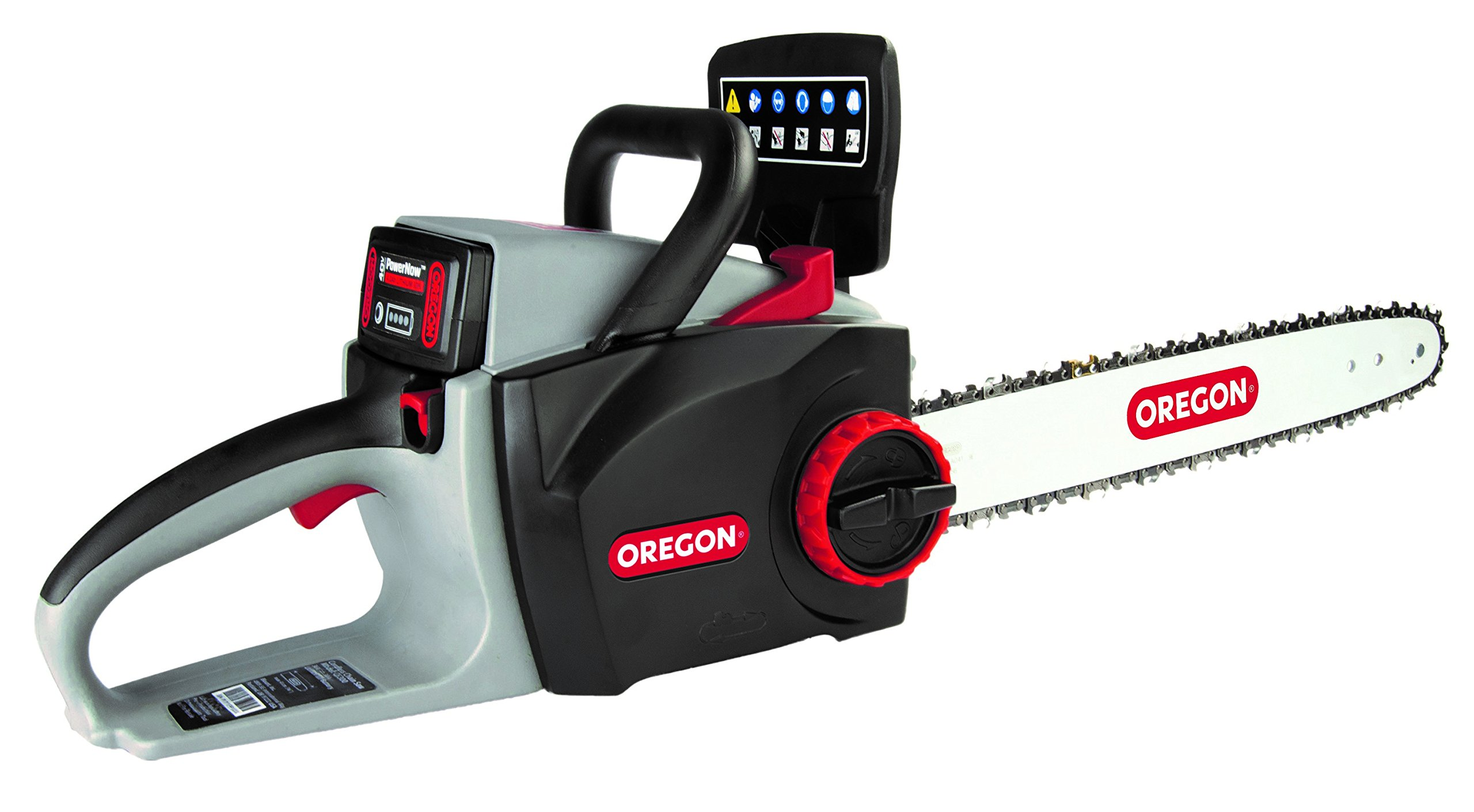 Oregon Cordless CS300-R7 Chainsaw Kit with 6.0 Ah Battery Pack and Rapid Charger