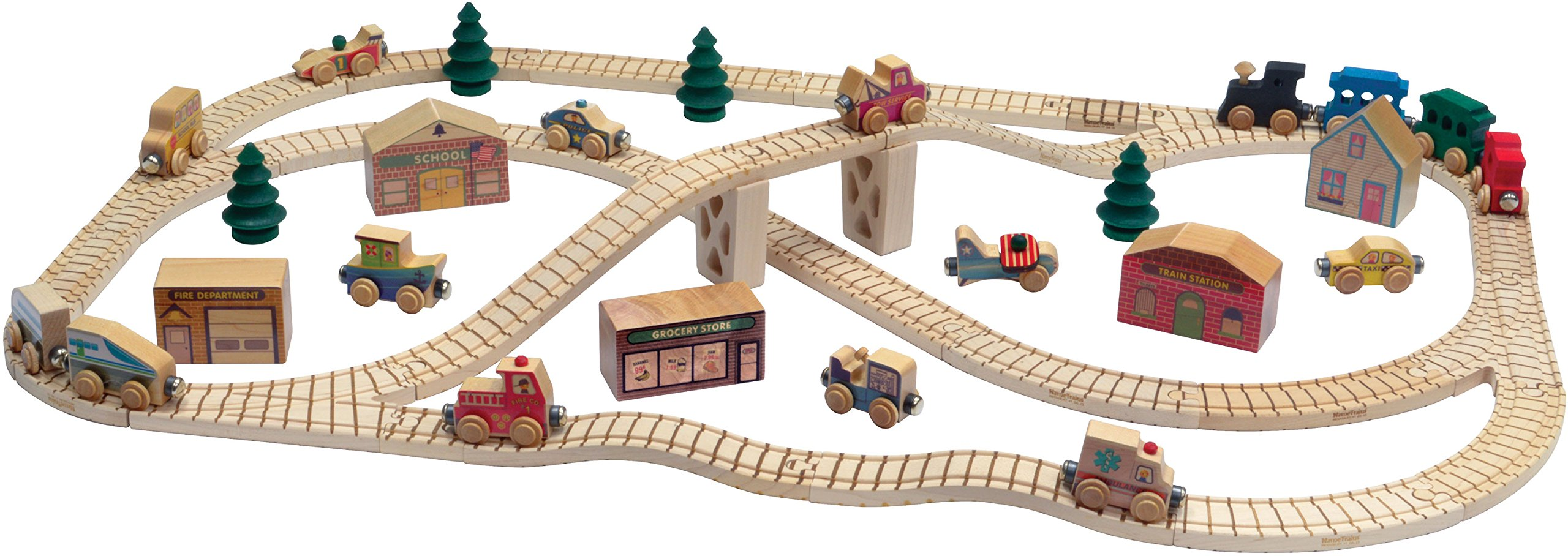 NameTrain Town Set - Made in USA