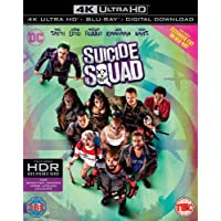 Suicide Squad (4K UHD + Blu-ray + Digital HD) (2-Disc Set) (Region Free + Slipcase Packaging + Fully Packaged Import) - Extended Cut on Blu-ray