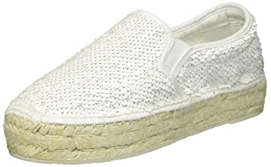 Damen Wayne Espadrilles, Weiß (White), 40 EU Replay