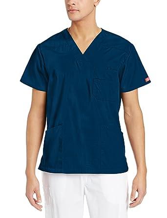 a1a5b2fc89a Dickies EDS Signature Men's V-Neck Top: Amazon.com.au: Fashion