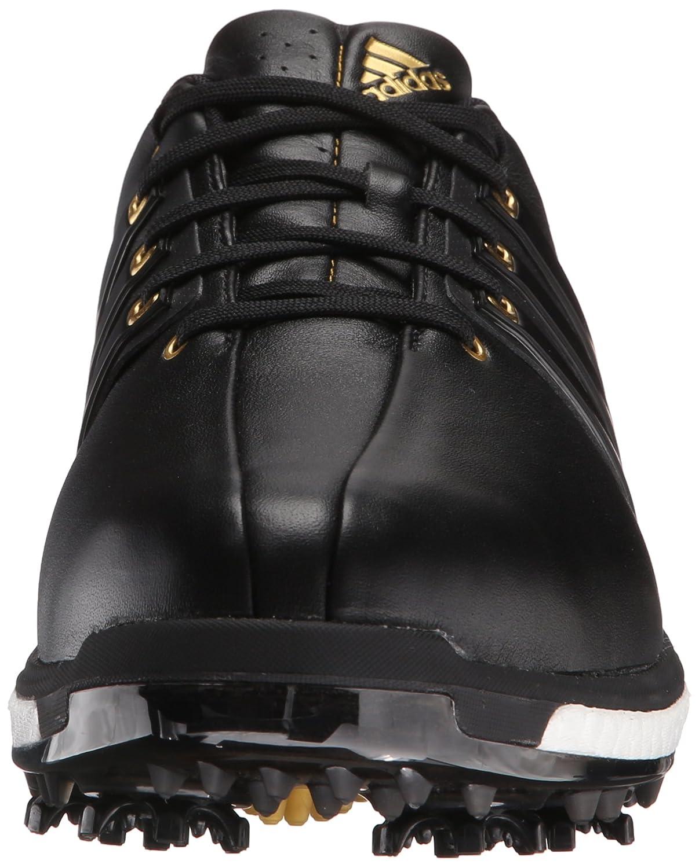 the latest 4c9f4 2912f Zapatillas con punta adidas Golf Masculina Tour360 Boost Negro   Negro    Oro Metálico