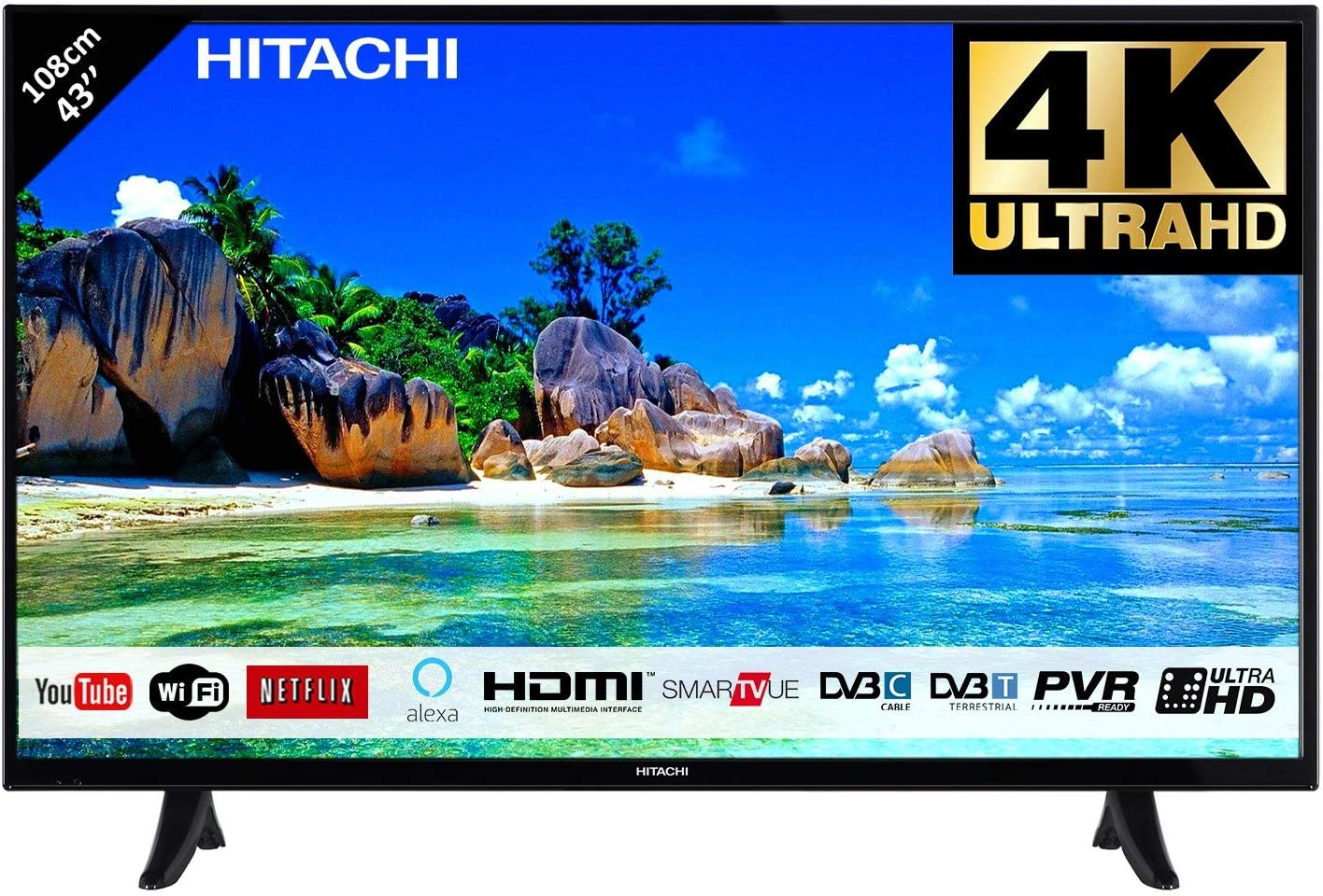 Hitachi TV 43