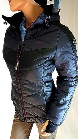 PUMA Winterjacke Damen schwarz wasserdicht warmCELL Jacke Skijacke ...