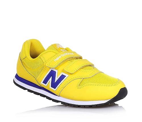5ebf73ae2 NEW BALANCE KV500 YLY bebé amarilla zapatillas de deporte que rasgan   Amazon.es  Zapatos y complementos