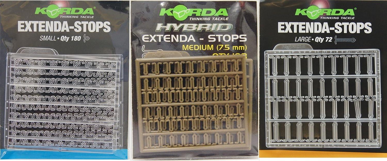 Korda Extenda-Stops Small//Medium//Large Carp Fishing