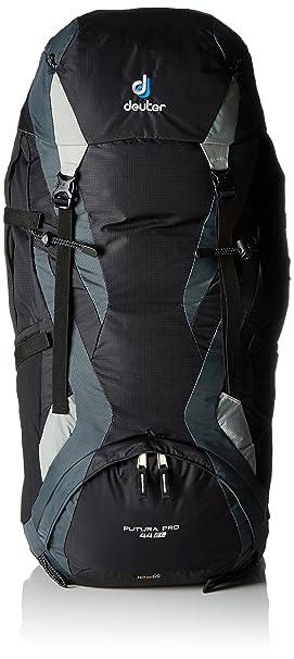 Deuter Futura Pro Mochila para Montaña, Unisex Adulto, Negro (Black/Granite), 44 l: Amazon.es: Deportes y aire libre