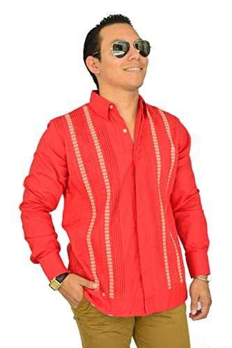 3fb6ba780c Camisa Guayabera Yucateca Casual Lino Original cfkvikml12  Amazon ...