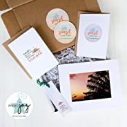 PHOTO JOY - Art Print + Stationery Desk Decor Subscription Box: 5x7 print