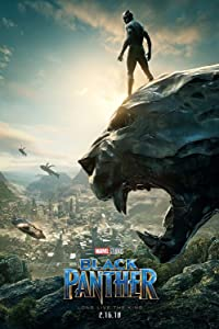 "Posters USA Marvel Black Panther Movie Poster GLOSSY FINISH - FIL607 (24"" x 36"" (61cm x 91.5cm))"