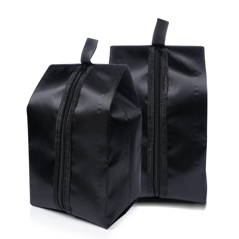4 Pack Travel Shoe bags Portable Dust-proof Breathable Water Resistant Nylon With Zipper Travel Accessories For Men Women generique