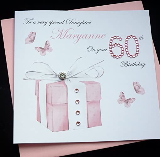Handmade Personalised Birthday Card 30th 40th 50th 60th 70th 80th 90th Amazoncouk