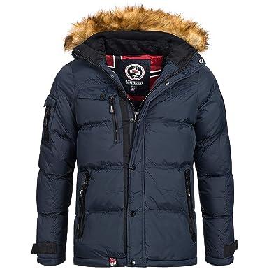 Geographical Norway   Anapurna Herren Winterjacke Jacke Outdoor Warm  Gefüttert Behar Biwa Gr. S 4904095e78
