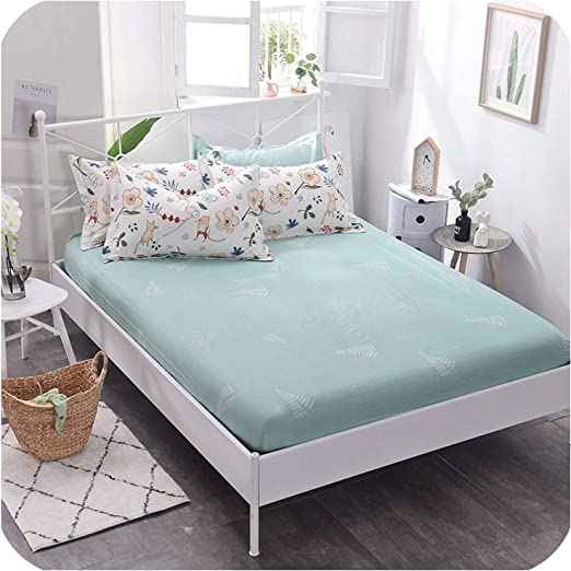 1Pc Solid Cotton Bed Pillowcases Bedding Pillow Case Cover Standard Queen Size