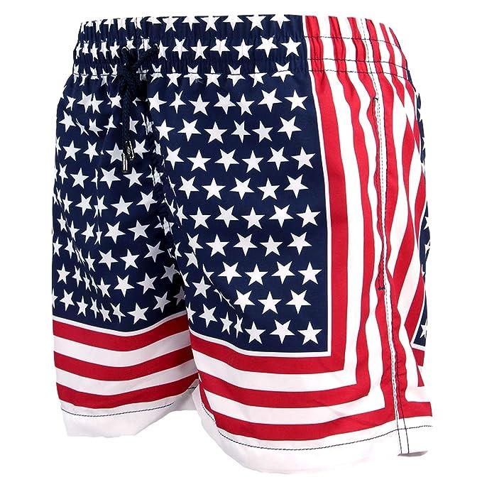 Kiwi Saint Tropez Boxer Rik Pantaloncini Uomo Giochi d'imitazione