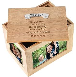 70th Birthday Gift Large Memories Keepsake Box