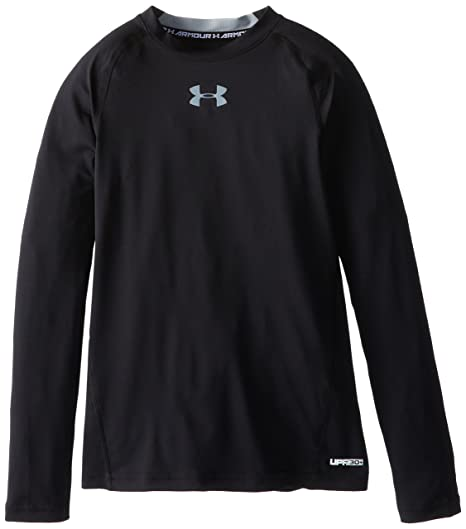 Imported From Abroad Under Armour Athletic Youth Top Heat Gear Size Yxl Black Big Logo Clothing, Shoes & Accessories