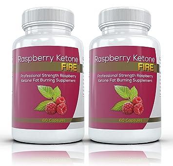 Amazon.com: Raspberry Ketone Fire (2 botellas) – Fuerza de ...