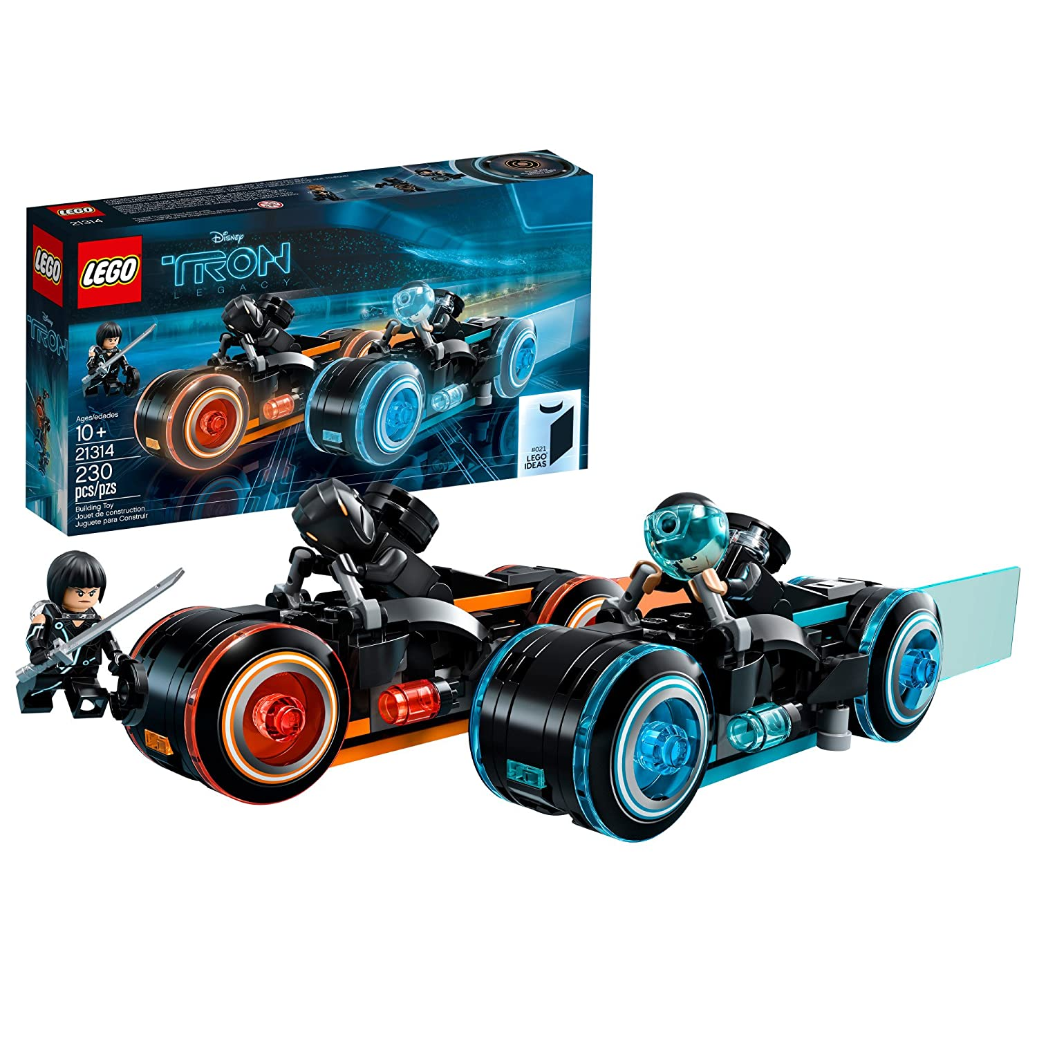 LEGO Ideas TRON: Legacy 21314 Construction Toy Inspired by Disney's TRON: Legacy Movie 6222982