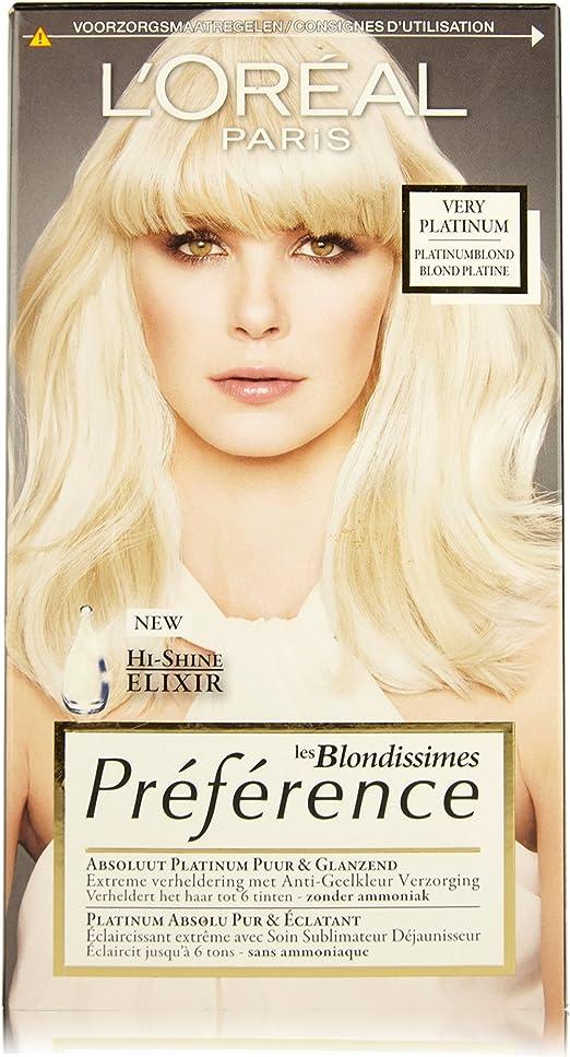 LOréal Paris Préférence Blondissimes coloración del cabello ...