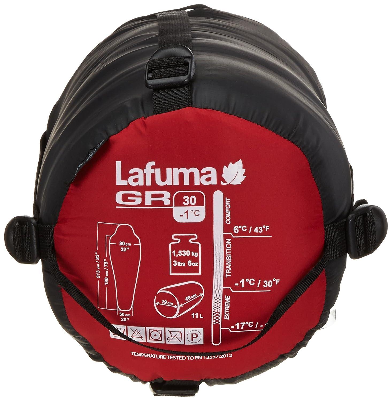 Lafuma Schlafsack GR 30 - Saco de dormir momia para acampada, color rojo, talla 30: Amazon.es: Deportes y aire libre